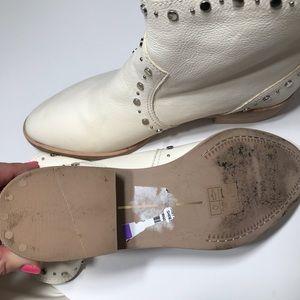 Dolce Vita Shoes - Dolce Vita Tobin White Studded Boot